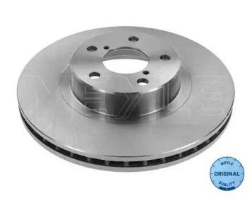Вентилируемый передний тормозной диск на SUBARU LEGACY OUTBACK 'MEYLE 34-15 521 0013'.