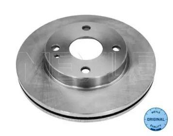 Вентильований передній гальмівний диск на Мазда Деміо MEYLE 35-15 521 0016.
