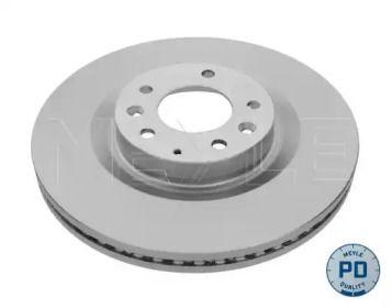 Вентилируемый передний тормозной диск на MAZDA CX-9 'MEYLE 35-15 521 0034/PD'.