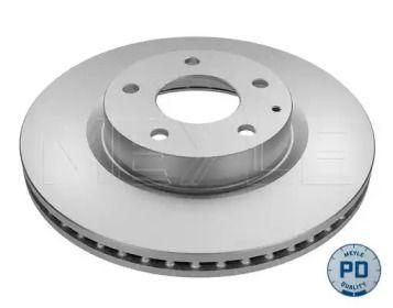 Вентилируемый передний тормозной диск на MAZDA CX-3 'MEYLE 35-15 521 0043/PD'.