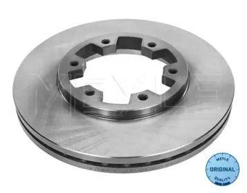 Вентилируемый передний тормозной диск на Форд Маверик 'MEYLE 36-15 521 0009'.