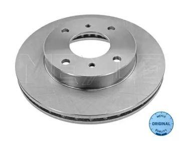 Вентилируемый передний тормозной диск на Ниссан Прерия 'MEYLE 36-15 521 0014'.