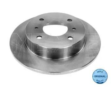 Задний тормозной диск на NISSAN ALMERA 'MEYLE 36-15 523 0001'.