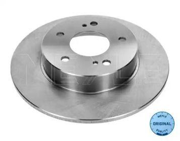 Задний тормозной диск на NISSAN MAXIMA 'MEYLE 36-15 523 0015'.