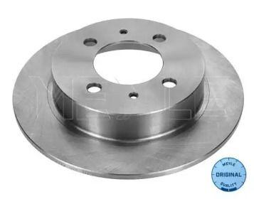 Задний тормозной диск на Ниссан 100Нх 'MEYLE 36-15 523 0017'.