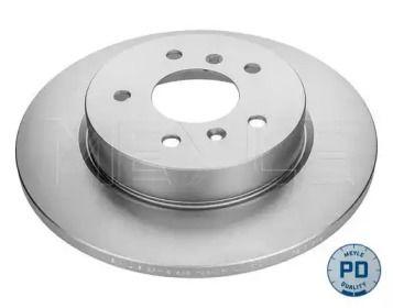 Задний тормозной диск на RENAULT KADJAR 'MEYLE 36-15 523 0055/PD'.