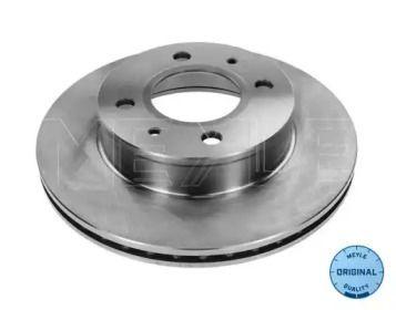 Вентилируемый передний тормозной диск на Хендай Атос 'MEYLE 37-15 521 0009'.