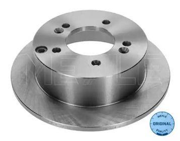 Задний тормозной диск на Хендай Туксон 'MEYLE 37-15 523 0008'.