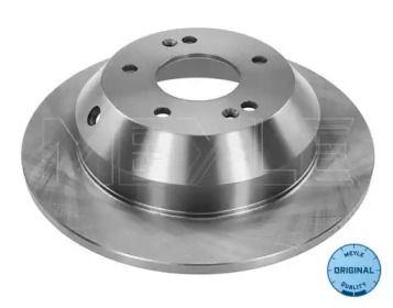 Задний тормозной диск на KIA SORENTO 'MEYLE 37-15 523 0018'.