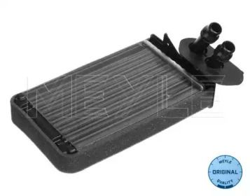 Радиатор печки на Фольксваген Гольф 'MEYLE 100 819 0004'.