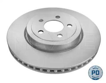 Вентилируемый передний тормозной диск на Крайслер 300С 'MEYLE 44-15 521 0016/PD'.