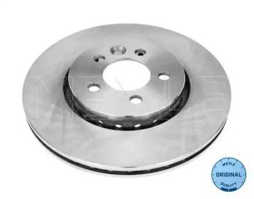 Вентилируемый передний тормозной диск на ROVER 75 'MEYLE 45-15 521 0008'.