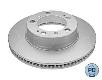 Вентилируемый передний тормозной диск на Порше Бокстер 'MEYLE 483 521 0001/PD'.