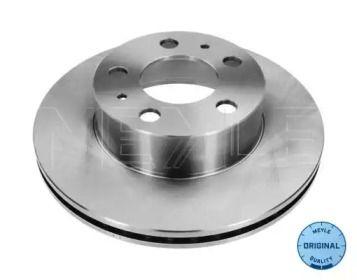Вентилируемый передний тормозной диск на Вольво 240 'MEYLE 515 521 5004'.