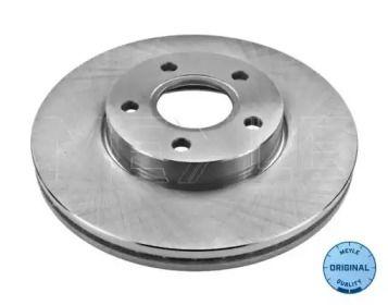 Вентилируемый передний тормозной диск на Вольво В50 'MEYLE 515 521 5026'.
