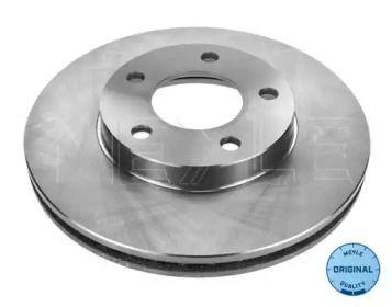 Вентилируемый передний тормозной диск на Мазда Трибьют 'MEYLE 60-85 521 0005'.