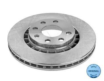 Вентилируемый передний тормозной диск на DAEWOO ESPERO 'MEYLE 615 521 6001'.