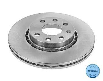 Вентилируемый передний тормозной диск на OPEL TIGRA 'MEYLE 615 521 6005'.