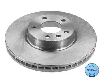 Вентилируемый передний тормозной диск на Опель Сенатор 'MEYLE 615 521 6009'.