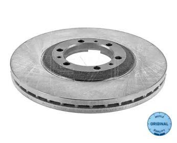 Вентилируемый передний тормозной диск на OPEL MONTEREY 'MEYLE 615 521 6029'.