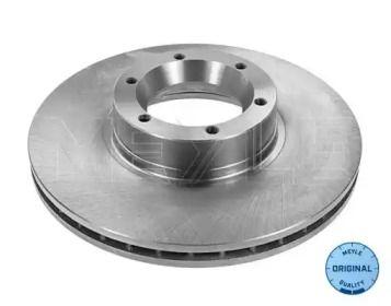 Вентилируемый передний тормозной диск на Ниссан Интерстар 'MEYLE 615 521 6030'.