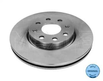 Вентилируемый передний тормозной диск на Опель Адам 'MEYLE 615 521 0015'.