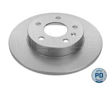 Задний тормозной диск 'MEYLE 615 523 0024/PD'.