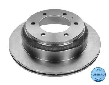 Вентилируемый задний тормозной диск на Опель Монтерей 'MEYLE 615 523 6033'.