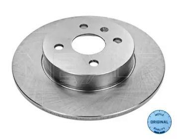Задний тормозной диск на OPEL MERIVA 'MEYLE 615 523 6043'.