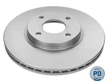 Вентилируемый передний тормозной диск на Форд Торнео Курьер 'MEYLE 715 521 0032/PD'.