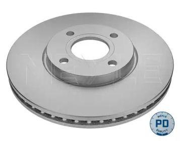 Вентилируемый передний тормозной диск на Форд Экоспорт 'MEYLE 715 521 0033/PD'.