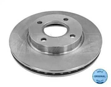 Вентилируемый передний тормозной диск на FORD COUGAR MEYLE 715 521 0031.