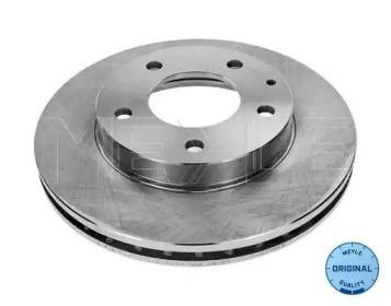 Вентилируемый передний тормозной диск на FORD PROBE 'MEYLE 715 521 7028'.