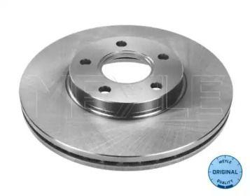 Вентилируемый передний тормозной диск на Форд Транзит Конект 'MEYLE 715 521 7030'.
