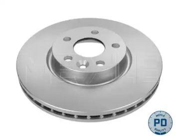 Вентилируемый передний тормозной диск на Дискавери Спорт 'MEYLE 783 521 0026/PD'.