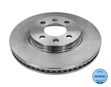Вентилируемый передний тормозной диск на Сааб 9000 'MEYLE 815 521 5001'.