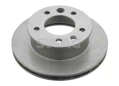 Вентилируемый передний тормозной диск на MERCEDES-BENZ VARIO 'SWAG 10 90 7517'.