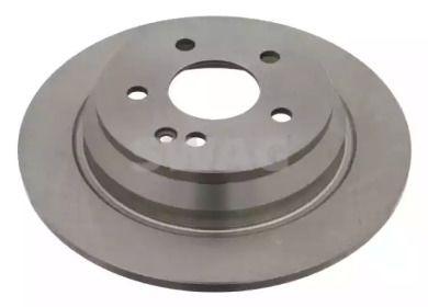 Задний тормозной диск 'SWAG 10 92 4077'.