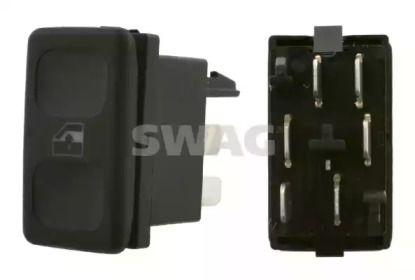 Кнопка стеклоподъемника 'SWAG 30 91 4080'.
