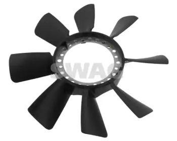 Крыльчатка вентилятора охлаждения двигателя на Фольксваген Пассат 'SWAG 30 93 4466'.