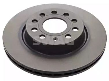 Вентилируемый передний тормозной диск 'SWAG 32 92 2904'.