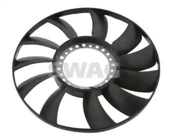 Крыльчатка вентилятора охлаждения двигателя на VOLKSWAGEN PASSAT 'SWAG 32 92 6565'.