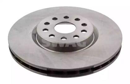 Вентилируемый передний тормозной диск на Лянча Каппа 'SWAG 74 91 4165'.