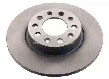 Задний тормозной диск на Фиат 500Х 'SWAG 74 94 3880'.