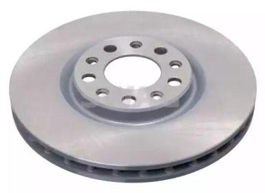 Вентилируемый передний тормозной диск на Фиат 500Х 'SWAG 74 94 3893'.