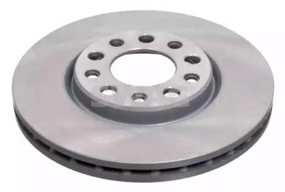 Вентилируемый передний тормозной диск на FIAT 500X 'SWAG 74 94 3945'.