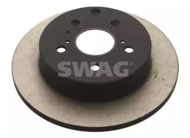 Задний тормозной диск на Лексус НС 'SWAG 81 92 9353'.