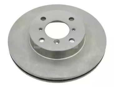 Вентилируемый передний тормозной диск на Сузуки Лиана 'SWAG 84 92 6046'.