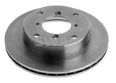 Вентилируемый передний тормозной диск на Сузуки Игнис 'SWAG 84 92 8160'.