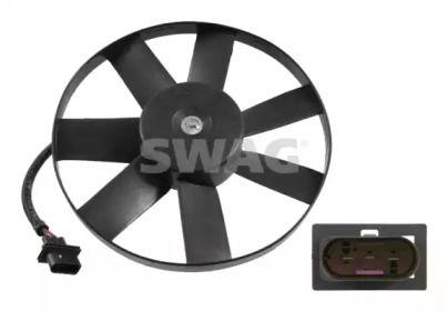Вентилятор охлаждения радиатора на Сеат Леон 'SWAG 99 91 4748'.